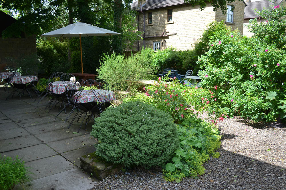 The Garden at Potters Barn, Ribchester